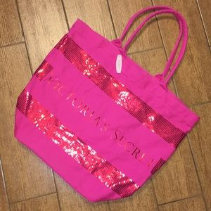Victoria's Secret Canvas Tote